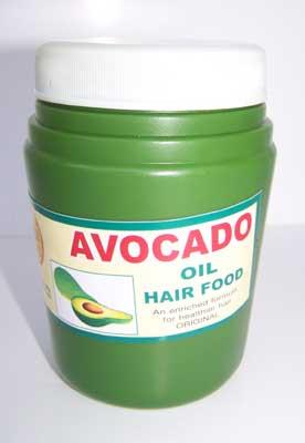 avocado hair food